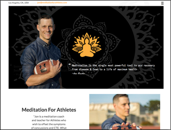 Meditation-For-Athletes Portfolio