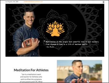 Meditation-For-Athletes Portfolio