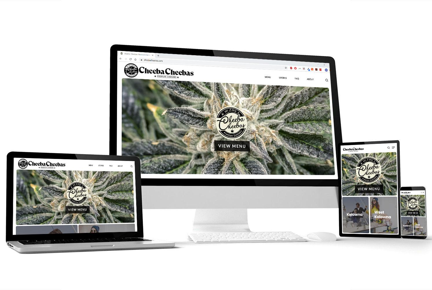 Cheeba Cheebas | Web Design Portfolio