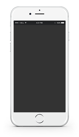 Website Display Iphone example